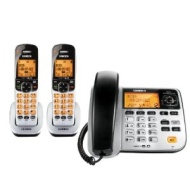 Uniden D1788-2 DECT 6.0 Corded/Cordless Phone w/ 1 Extra Handset