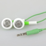 BestDealUSA Green In-ear Earphones Headset Earbuds For iPod Mp3 Mp4