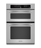 "KitchenAid 30"" Built-In Microwave/Oven Combination Stainless steel"