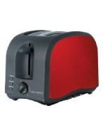 Continental Metallic 2-Slice Toaster - Metallic Red
