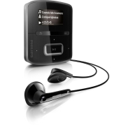 Philips GoGear RaGa 4GB MP3 Player - Black