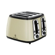 Russell Hobbs 18371 Heritage Black 4-Slice Toaster