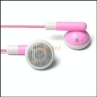Earphones for Apple iPod Shuffle - Pink