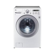 LG Electronics 3.6 DOE cu. ft. High-Efficiency Front Load Washer in White,