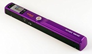 "PURPLE Vupoint Magic Wand Portable Scanner Bundle with 1"" Color LCD Display"