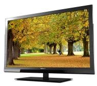 "Toshiba 55"" Diag. 3D-Ready 1080p, 240Hz, YahooNetTV LED HDTV"