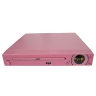 Alba DVD2070 Compact Slim DVD Player - Pink