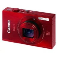 Ixus 500 HS (UK, Red, 10.1MP CMOS, 12x Zoom, 7.5CM LCD)