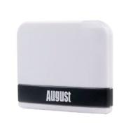 August MR100 Récepteur Audio Bluetooth pour station d'accueil iPod - Système Plug & Play pour écouter votre musique Sans-fil depuis votre portable/PC