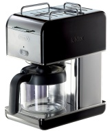 DeLonghi Kmix 10-Cup Drip Coffee Maker, Black
