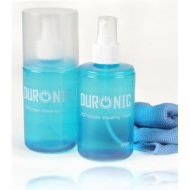 Duronic SCK102 - TWIN PACK - LCD TFT LED and Plasma TV Screen Cleaner [[ 200ml X 2 ]] + 2 Free microfibre cloth