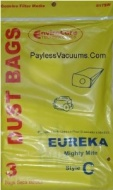 Eureka Mighty Mite Type C Single Wall Vacuum Bags - 9 Pack