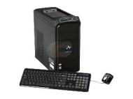 Gateway DX Series DX4350-UR21P (PT.GBYP2.003) Desktop PC Phenom II X6 1065T(2.9GHz) 6GB DDR3 1.5TB HDD Capacity ATI Radeon HD 4250 Windows 7 Home Prem