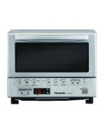 Panasonic - FlashXpress 4-Slice Toaster Oven - Silver NB-G110P