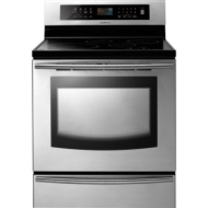 FTQ307NWGX Stainless Steel Electric Induction Range (5.9 cu. ft)