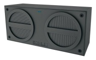 iHome Bluetooth Rechargeable Stereo Mini Speaker, Gray