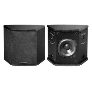BIC America DV5 - Rear center channel speaker - 2-way - black