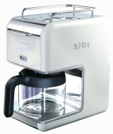 DeLonghi kMix 5-cup White Drip Coffee Maker