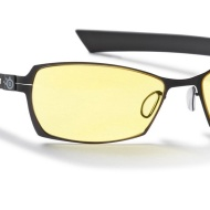 Gunnar Optiks SCO-04301 SteelSeries Scope Full Rim Advanced Video Gaming Glasses with Amber Lens Tint, Onyx/Carbon Frame Finish