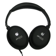 Able Planet NC300B True Fidelity Around-the-Ear Active Noise Canceling Headphones (Black)