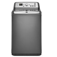 "Bravos MVWB950YG Grey 28"" Washer (Top Loading, 4.6 Cu Ft, Energy Star)"