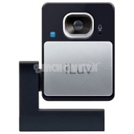 iLuv 1.3 Megapixel Webcam w/ Universal Laptop Clip and Built-in Privacy Sliding Door