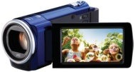 JVC Everio 1080p Blue Camcorder with Case