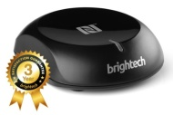 Brightech - BrightPlay Live™ - NFC Enabled HiFi Bluetooth Audio Receiver / Adapter - Bring Your Old Stereo Systems and Speakers Back to Life - Fast an