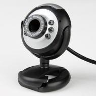 IMB USB Webcam Camera, 5 MegaPixel, 5G Lens, Built in Microphone & 6 LED supports Windows 8
