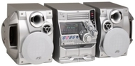 JVC MX-G70   Shelf System, 330 Total Watts, Bi-Amped