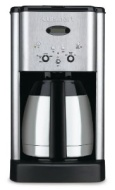 Cuisinart DCC-1400 Brew Central 10-Cup Thermal Coffee Maker, Silver