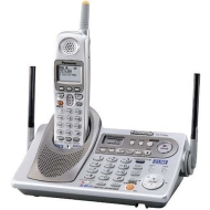 Panasonic KX-TG5480 5.8 GHz FHSS GigaRange 2-Line Digital Cordless Phone System with Answering System