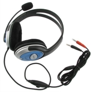 eForCity VOIP/SKYPE Handsfree Stereo Headset w/ Microphone