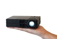 AAXA Technologies P300 Pico Pocket Projector, 300 Lumens HD at 1080p and MP4 pla