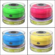 Colorful portatile Mini HIFI impermeabile doccia Piscina Wireless Speaker Vivavoce Bluetooth con microfono Quantità : 1 Con FamilyMall negozio