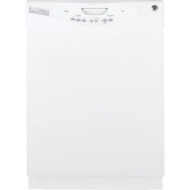 "GLD4400NWW 24"" Built-In Dishwasher (15 Place Settings, White, Energy Star)"