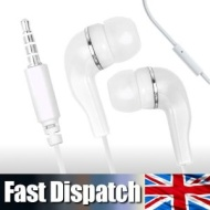 IN EAR EARPHONES/HEADPHONES/HANDSFREE WITH MICROPHONE FOR APPLE IPHONE 2G 3GS/3G S