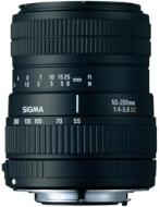 Sigma 55-200 f/4-5.6 DC