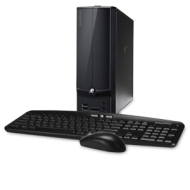 EL1360-UR30P Small Form Factor Desktop (1.3 GHz AMD E-300, 2 GB DDR3, 320 GB HDD, DVDR/RW, AMD Radeon HD 6310, Windows 7 Home Premium)