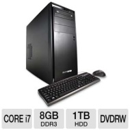 iBUYPOWER Gamer Extreme 950D3 Gaming PC - Intel Core i7-2600 3.40GHz, 8GB DDR3, 1TB HDD, NVIDIA GeForce GTX 550 Ti, DVDRW, Windows 7 Home Premium 64-b