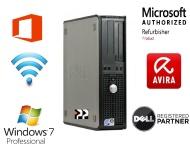 Dell Optiplex 760 Small Form Factor PC - Genuine Microsoft Authorised Refurbisher Windows 7 Home Premium 64BIT - Core 2 Duo 3.72 (2 x 2.93 CPU) 8GB RA