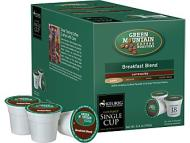 Keurig K-Cup Green Mountain Breakfast Blend, 18 Pack