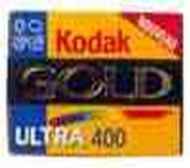 Kodak GOLD Ultra 400 135-24 CN 3 PK  Film