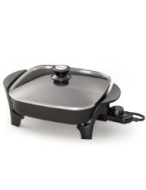 Presto 06626 11 inch Electric Skillet w/glass lid