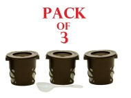 Refillable / Reusable Coffee or Tea Filter Cup for Keurig K-Cup Brewers - 3 Pack