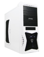 VANTAGE White GAMING PC (FX-4170 Quad Core 4.20GHz Processor - Gigabyte GA-78LMT-USB3 Motherboard, AMD Radeon 6670 2GB Graphics Card, 1TB Hard Drive,