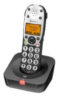 Amplicomms 710 Powertel Voice Assisted Amplified Cordless DECT Telephone - Anthracite