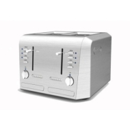 De-Longhi Stainless Steel 4-slice Toaster