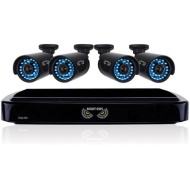 Night Owl 4 Channel Video Security System With 4 X 650 Tvl Bullet Cameras - Digital Video Recorder, Camera - H.264 Formats - 500 Gb Hard Drive - 20 Fp