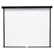 Quartet Wall and Ceiling Projection Screen, 96 x 96 Inches (696S)